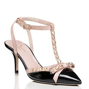 KATE SPADE | Julianna Patent Leather Studded Heels